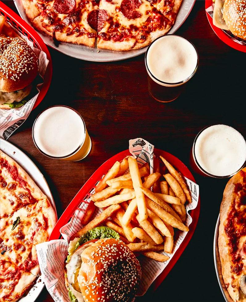 Pizza, Beer, Burgers Somerville